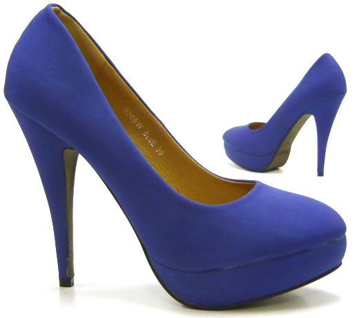 sky heels damen schuhe pumps plateau heels neu blau 39 kaufen bei. Black Bedroom Furniture Sets. Home Design Ideas