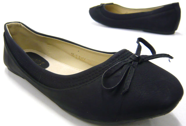elegante damen schuhe ballerinas trendy slipper neu ebay. Black Bedroom Furniture Sets. Home Design Ideas