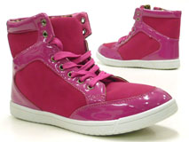 Damen Schuhe Stiefelette High Class High Top Sneaker pink 36