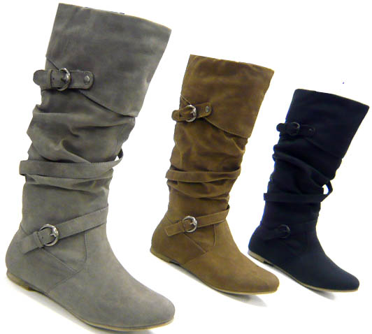 dick gef tterte kunst fell winter boots damen schuhe stiefel ebay. Black Bedroom Furniture Sets. Home Design Ideas
