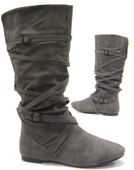 flache fashion winter boots damen schuhe stiefel neu ebay. Black Bedroom Furniture Sets. Home Design Ideas