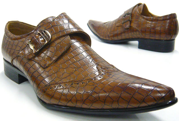 herren schuhe slipper elegante business schuhe kroko optik ebay. Black Bedroom Furniture Sets. Home Design Ideas
