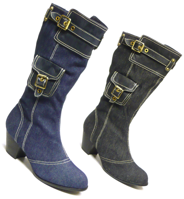designer jeans stiefel damen schuhe stiefel ebay. Black Bedroom Furniture Sets. Home Design Ideas