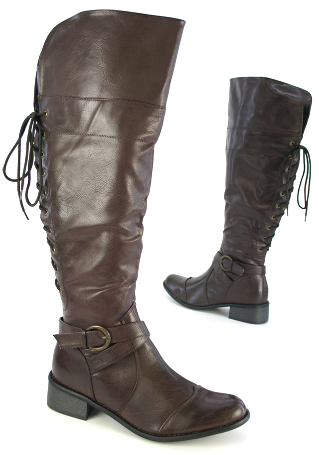 damen winter stiefel korsagen boots f r kr ftige waden ebay. Black Bedroom Furniture Sets. Home Design Ideas