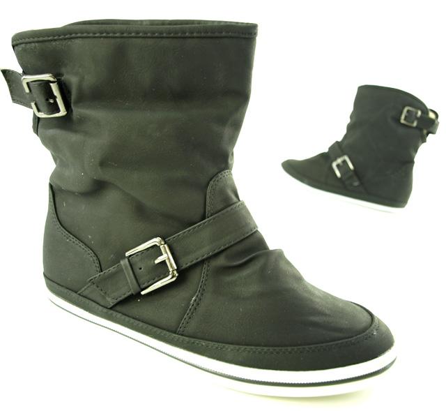 damen winter sneaker sportliche kunst fell stiefelette ebay. Black Bedroom Furniture Sets. Home Design Ideas