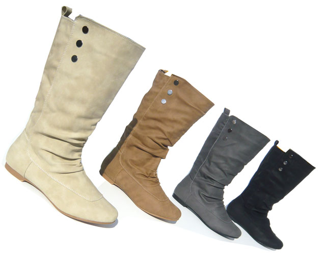 damen schuhe stiefel winter boots leicht gef ttert neu ebay. Black Bedroom Furniture Sets. Home Design Ideas